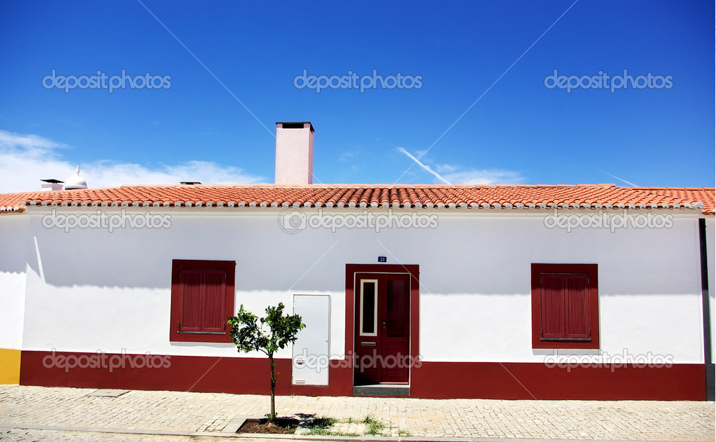 maison de village portugais r gion de lalentejo. Black Bedroom Furniture Sets. Home Design Ideas