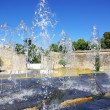 Source in garden,Evora, Portugal — Stock Photo