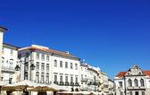 évora praça giraldo, sul de portugal — Foto Stock