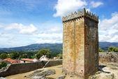 Slottet av melgaço i norra portugal. — Stockfoto