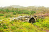 Old Roman bridge, Castro de Laboreiro, north of Portugal. — Stock Photo
