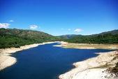 Lima floden, portugal och spanien gränsen. — Stockfoto