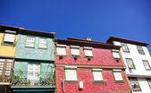 Porto downtown, Ribeira square — Stock Photo