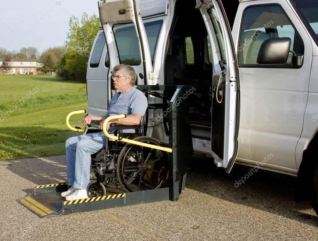 Handicap wheelchair lift stock photo dcwcreations 5680716 for Handicapped wheelchair