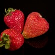 Strawberries closeup — Stock Photo #5880599