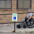 Wheelchair ramp — Stock Photo