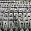 Jizo statues — Stock Photo