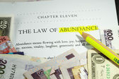 Law of abundance — Stock Photo