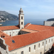 Dominican church Dubrovnik — Stock Photo