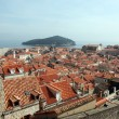 View of Old City of Dubrovnik, Croatia — ストック写真