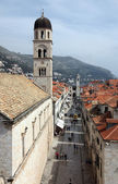 Stradun street, Dubrovnik, Croatia — Stock Photo