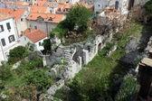 Ruins in Dubrovnik — Stock Photo