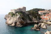Fort Lovrijenac, Dubrovnik — Stockfoto