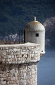 Lookout Point, Dubrovnik fortress city wall — Stock Photo