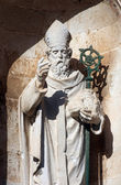 St. Blaise patron of Dubrovnik — Stock Photo
