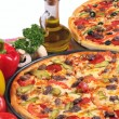 italiensk pizza — Stockfoto