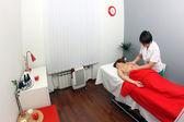 Massage in spa salon — Stock fotografie