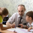 Royalty-Free Stock Photo: Teacher and schoolboys