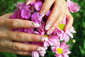 Nail art design — Foto Stock