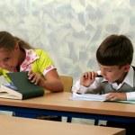 Pupils at classroom — Stock Photo #6317857