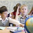Pupils at classroom — Stock Photo #6317978