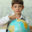 Pupil & globe — Stock Photo