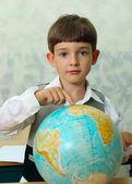 Pupil & globe — Stock Photo