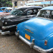 Vintage Cars in Havana, Cuba — Stock Photo