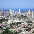 Aerial view of Vedado Quarter in Havana, Cuba - Stock Photo