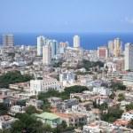 Aerial view of Vedado Quarter in Havana, Cuba — Stock Photo