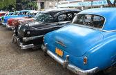 Autos antiguos en la habana, cuba — Foto de Stock