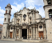 Havana Cathedral, Cuba — Stock Photo