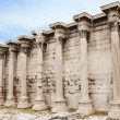 Hadrian's Library in the Roman Forum of Athens, Greece — Stock Photo