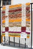 Spaanse handgemaakte deken — Stockfoto