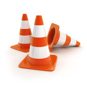 Road Cones — Stock Photo