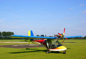 Ultralight plane — Stock Photo