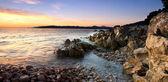 Rotsachtige adriatische — Stockfoto
