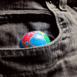 Pocket World — Stock Photo