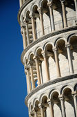 The leaning tower of Pisa — Stock Photo