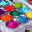 Colorful Holi - Stock Photo
