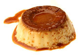 Caramel Custard — Stock Photo