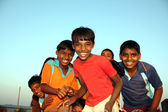 Happy Poor Kids — Stock Photo