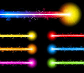 Laser Neon Colorful Lights — Stock Vector