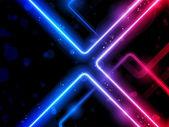 彩虹线背景氦氖激光器 — 图库矢量图片