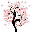 Fairy tree — Vector de stock #5521907