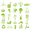 Eco icons - Stock vektor