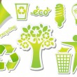 Recycling icons — Stock Vector #6331574
