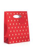 рождественская подарочная сумка — Стоковое фото