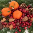Stock Photo: Christmas Bounty