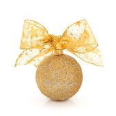 Christmas Glitter Ball — Stock Photo